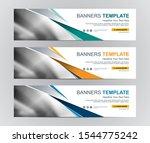 abstract web banner design... | Shutterstock .eps vector #1544775242