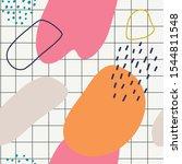abstract brushstroke background ...   Shutterstock .eps vector #1544811548