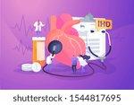 circulatory system... | Shutterstock .eps vector #1544817695