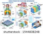 green power generation... | Shutterstock .eps vector #1544838248