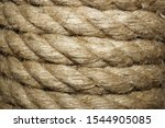 Jute Rope To Create A Decor