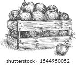 vector illustration of wooden... | Shutterstock .eps vector #1544950052