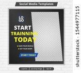 modern template web and banner... | Shutterstock .eps vector #1544977115