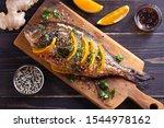 Orange Ginger Sea Bream Fish ...