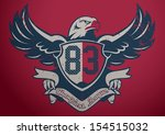 eagle champions league | Shutterstock .eps vector #154515032