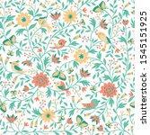 hand drawn vector seamless...   Shutterstock .eps vector #1545151925