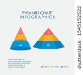 pyramid chart infographics...   Shutterstock .eps vector #1545152522