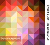 vector background of geometric... | Shutterstock .eps vector #154515536