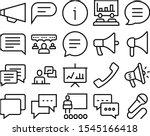 speech vector icon set such as  ...