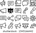 speech vector icon set such as  ...