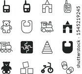 Children Vector Icon Set Such...