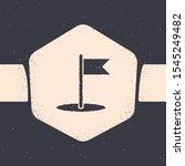 grunge flag icon isolated on...