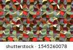 artistic geometric abstract...   Shutterstock . vector #1545260078