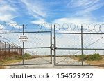 private property sign hangs on... | Shutterstock . vector #154529252