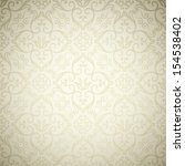 luxury ornamental retro floral... | Shutterstock .eps vector #154538402