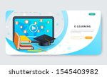 online education courses ...   Shutterstock .eps vector #1545403982