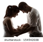 Family Newborn Baby Portrait....