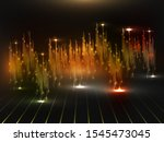 audio or sound waveform...   Shutterstock .eps vector #1545473045