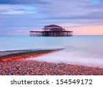 The Old Derelict West Pier In...