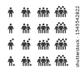 people icons   person work... | Shutterstock .eps vector #1545542822
