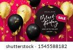 black friday sale background... | Shutterstock .eps vector #1545588182