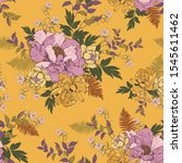 Floral Pattern With...