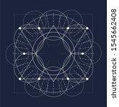 mystical geometry symbol....   Shutterstock .eps vector #1545662408