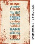 vintage typography vector... | Shutterstock .eps vector #154570238