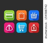 flat icons for web and mobile...