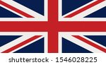 uk flag in the national colors  | Shutterstock . vector #1546028225