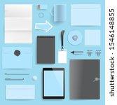 corporate identity template... | Shutterstock .eps vector #1546148855