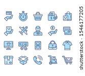 e commerce service icons for...   Shutterstock .eps vector #1546177205