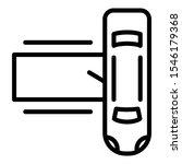celebrity limousine icon.... | Shutterstock .eps vector #1546179368