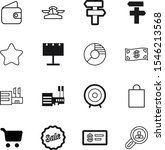 market vector icon set such as  ... | Shutterstock .eps vector #1546213568