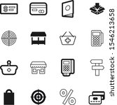 market vector icon set such as  ... | Shutterstock .eps vector #1546213658