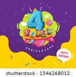 happy birthday kids... | Shutterstock .eps vector #1546268012
