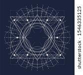 mystical geometry symbol....   Shutterstock .eps vector #1546335125