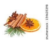 Orange Slices And Cinnamon With ...