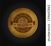logo vintage beer limited hop...   Shutterstock .eps vector #154642862