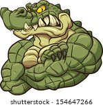 alligator,angry,biceps,cartoon,character,crocodile,flexing,green,illustration,isolated,mascot,muscle,strong,vector