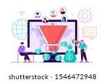 monetization tips. increasing... | Shutterstock .eps vector #1546472948