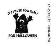 halloween graphic print for t... | Shutterstock . vector #1546572425