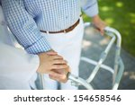 close up of clinician hand on... | Shutterstock . vector #154658546