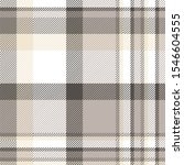 Plaid Check Pattern In Taupe ...