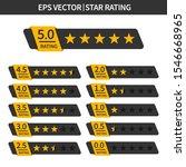 Set Of Stars Rating. Customer...