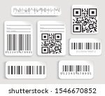 set  collection of barcodes... | Shutterstock .eps vector #1546670852