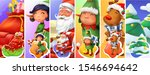christmas and new year. santa... | Shutterstock .eps vector #1546694642