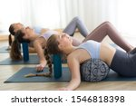 Restorative Yoga With A Bolster....