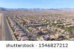 Drone  Scenic Shot Of Las Vegas ...