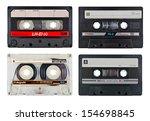Old Vintage Cassette Tapes